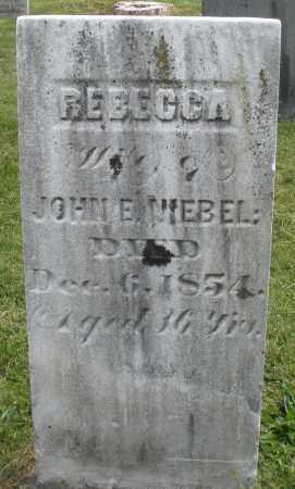NEIBEL, REBECCA - Montgomery County, Ohio | REBECCA NEIBEL - Ohio Gravestone Photos
