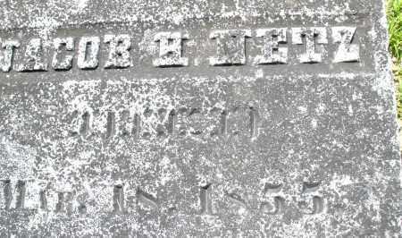 NETZ, JACOB H. - Montgomery County, Ohio | JACOB H. NETZ - Ohio Gravestone Photos