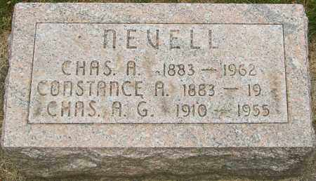 NEVELL, CHARLES A - Montgomery County, Ohio | CHARLES A NEVELL - Ohio Gravestone Photos