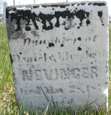 NEVINGER, TABITHA - Montgomery County, Ohio | TABITHA NEVINGER - Ohio Gravestone Photos
