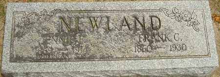 NEWLAND, FRANK - Montgomery County, Ohio | FRANK NEWLAND - Ohio Gravestone Photos