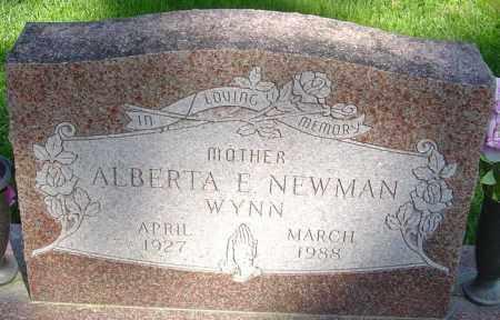 NEWMAN, ALBERTA ELAINE - Montgomery County, Ohio | ALBERTA ELAINE NEWMAN - Ohio Gravestone Photos