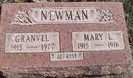 NEWMAN, MARY L. - Montgomery County, Ohio | MARY L. NEWMAN - Ohio Gravestone Photos