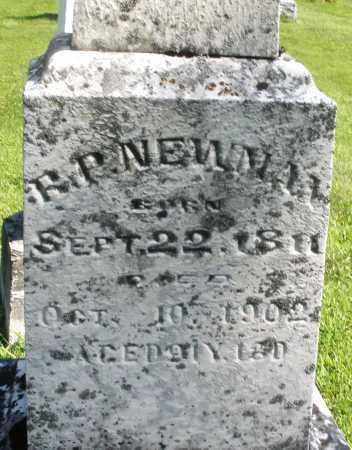 NEWMAN, R.P. - Montgomery County, Ohio | R.P. NEWMAN - Ohio Gravestone Photos