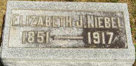 NIEBEL, ELIZABETH J - Montgomery County, Ohio | ELIZABETH J NIEBEL - Ohio Gravestone Photos