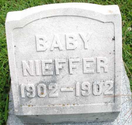 NIEFFER, BABY - Montgomery County, Ohio | BABY NIEFFER - Ohio Gravestone Photos