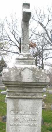 NIENABER, B.F. - Montgomery County, Ohio | B.F. NIENABER - Ohio Gravestone Photos