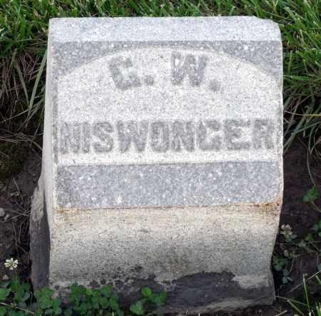 NISWONGER, G. W. - Montgomery County, Ohio | G. W. NISWONGER - Ohio Gravestone Photos