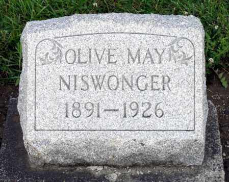 NISWONGER, OLIVE MAY - Montgomery County, Ohio | OLIVE MAY NISWONGER - Ohio Gravestone Photos