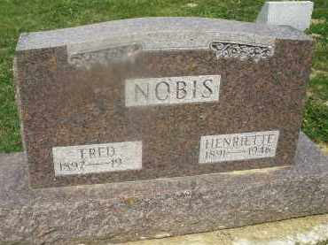 NOBIS, FRED - Montgomery County, Ohio | FRED NOBIS - Ohio Gravestone Photos