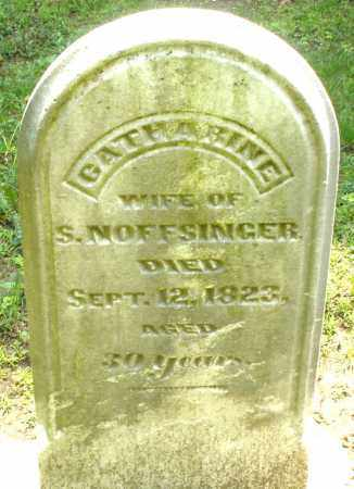 NOFFSINGER, CATHARINE - Montgomery County, Ohio | CATHARINE NOFFSINGER - Ohio Gravestone Photos