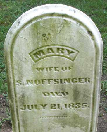 NOFFSINGER, MARY - Montgomery County, Ohio | MARY NOFFSINGER - Ohio Gravestone Photos