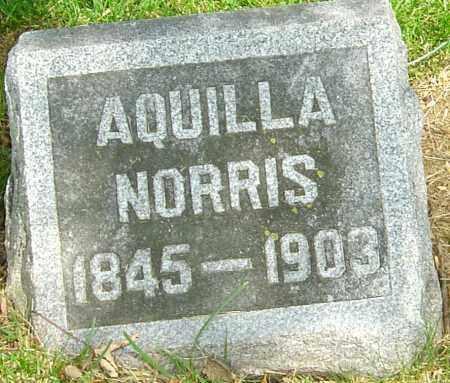 NORRIS, AQUILLA - Montgomery County, Ohio | AQUILLA NORRIS - Ohio Gravestone Photos
