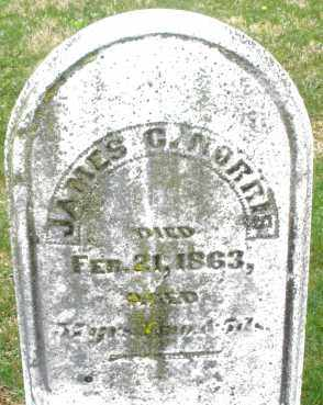 NORRIS, JAMES G. - Montgomery County, Ohio | JAMES G. NORRIS - Ohio Gravestone Photos