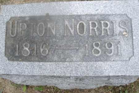 NORRIS, UPTON - Montgomery County, Ohio | UPTON NORRIS - Ohio Gravestone Photos