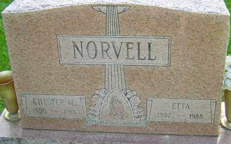 NORVELL, ETTA - Montgomery County, Ohio | ETTA NORVELL - Ohio Gravestone Photos