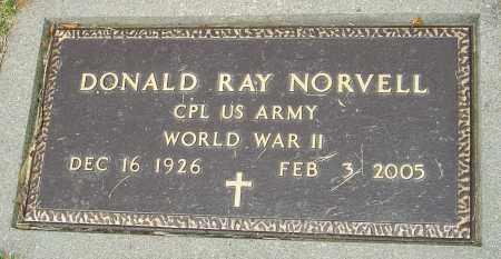 NORVELL, DONALD RAY - Montgomery County, Ohio | DONALD RAY NORVELL - Ohio Gravestone Photos