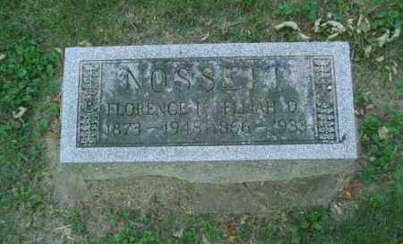 METHOD NOSSETT, FLORENCE - Montgomery County, Ohio | FLORENCE METHOD NOSSETT - Ohio Gravestone Photos