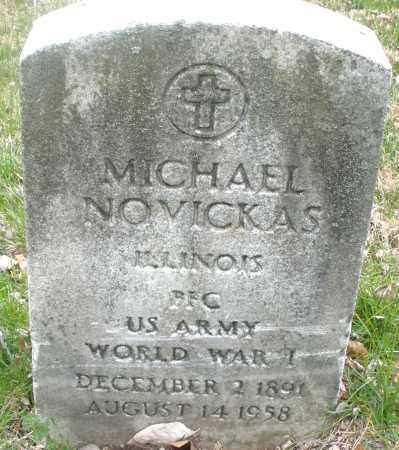 NOVICKAS, MICHAEL - Montgomery County, Ohio | MICHAEL NOVICKAS - Ohio Gravestone Photos