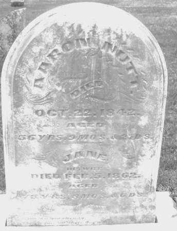 NUTT, JANE - Montgomery County, Ohio | JANE NUTT - Ohio Gravestone Photos