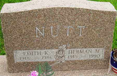 NUTT, EDITH K - Montgomery County, Ohio | EDITH K NUTT - Ohio Gravestone Photos