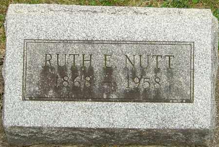 NUTT, RUTH E - Montgomery County, Ohio | RUTH E NUTT - Ohio Gravestone Photos