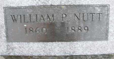 NUTT, WILLIAM P. - Montgomery County, Ohio | WILLIAM P. NUTT - Ohio Gravestone Photos