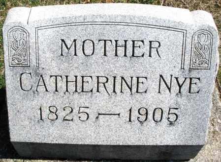 NYE/NEY, CATHERINE - Montgomery County, Ohio | CATHERINE NYE/NEY - Ohio Gravestone Photos