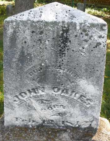 OAKES, JOHN - Montgomery County, Ohio | JOHN OAKES - Ohio Gravestone Photos