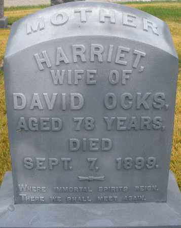 OCKS, HARRIET - Montgomery County, Ohio | HARRIET OCKS - Ohio Gravestone Photos