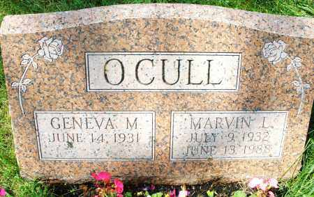 O'CULL, MARVIN LEE - Montgomery County, Ohio | MARVIN LEE O'CULL - Ohio Gravestone Photos