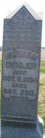 OEHLER, HERMAN - Montgomery County, Ohio | HERMAN OEHLER - Ohio Gravestone Photos