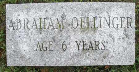 OELLINGER, ABRAHAM - Montgomery County, Ohio | ABRAHAM OELLINGER - Ohio Gravestone Photos