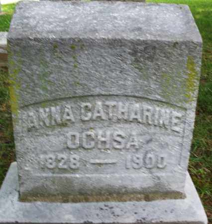 OGHSA, ANNA CATHARINE - Montgomery County, Ohio | ANNA CATHARINE OGHSA - Ohio Gravestone Photos