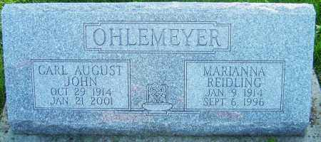 OHLEMEYER, MARIANNA - Montgomery County, Ohio | MARIANNA OHLEMEYER - Ohio Gravestone Photos