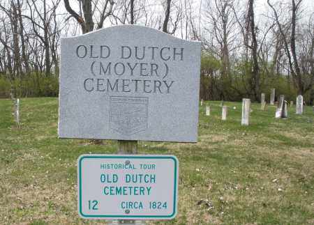 OLD DUTCH, CEMETERY - Montgomery County, Ohio | CEMETERY OLD DUTCH - Ohio Gravestone Photos