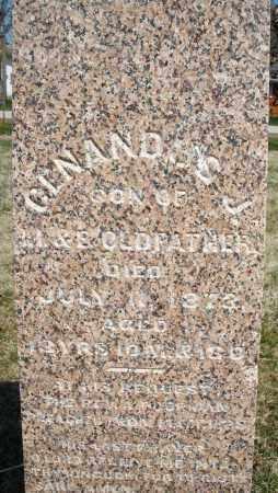OLDFATHER, CENANDOS J. - Montgomery County, Ohio | CENANDOS J. OLDFATHER - Ohio Gravestone Photos