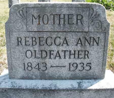 OLDFATHER, REBECCA ANN - Montgomery County, Ohio | REBECCA ANN OLDFATHER - Ohio Gravestone Photos
