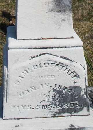 OLDFATHER, SAMUEL - Montgomery County, Ohio | SAMUEL OLDFATHER - Ohio Gravestone Photos