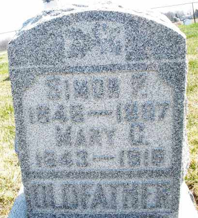 OLDFATHER, SIMON E. - Montgomery County, Ohio | SIMON E. OLDFATHER - Ohio Gravestone Photos