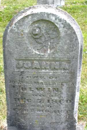 OLEWINE, JOANNA - Montgomery County, Ohio | JOANNA OLEWINE - Ohio Gravestone Photos