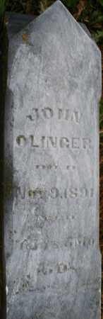 OLINGER, JOHN - Montgomery County, Ohio | JOHN OLINGER - Ohio Gravestone Photos