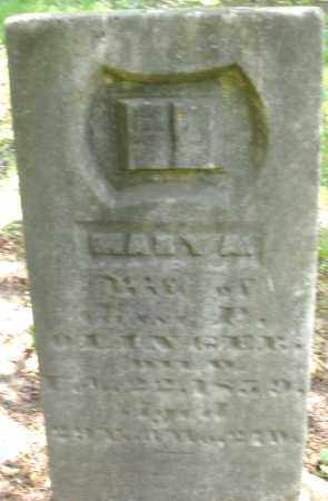 OLINGER, MARY A. - Montgomery County, Ohio | MARY A. OLINGER - Ohio Gravestone Photos