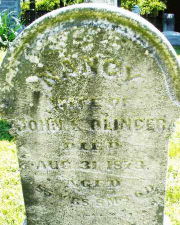 OLINGER, NANCY - Montgomery County, Ohio | NANCY OLINGER - Ohio Gravestone Photos