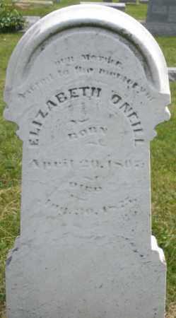 O'NEILL, ELIZABETH - Montgomery County, Ohio | ELIZABETH O'NEILL - Ohio Gravestone Photos