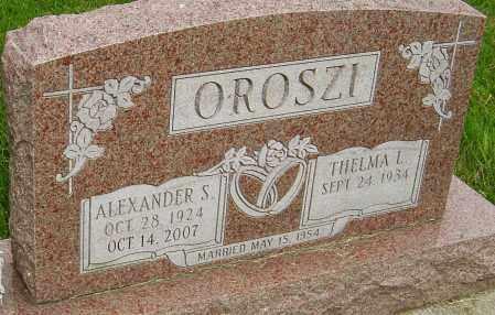 OROSZI, ALEXANDER S - Montgomery County, Ohio | ALEXANDER S OROSZI - Ohio Gravestone Photos