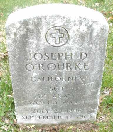 O'ROURKE, JOSEPH D. - Montgomery County, Ohio | JOSEPH D. O'ROURKE - Ohio Gravestone Photos