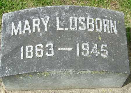 OSBORN, MARY L - Montgomery County, Ohio | MARY L OSBORN - Ohio Gravestone Photos