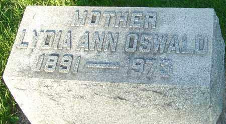 OSWALD, LYDIA ANN - Montgomery County, Ohio | LYDIA ANN OSWALD - Ohio Gravestone Photos