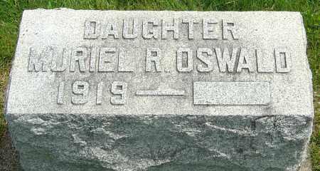 OSWALD, MURIEL R - Montgomery County, Ohio | MURIEL R OSWALD - Ohio Gravestone Photos